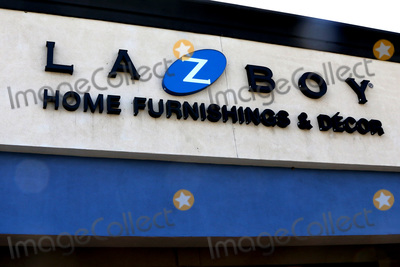 San Bernardino Photo - LOS ANGELES - APR 11  Lazboy Store at the Businesses Closed temporarily due to COVID-19 at the Hospitality Lane on April 11 2020 in San Bernardino CA