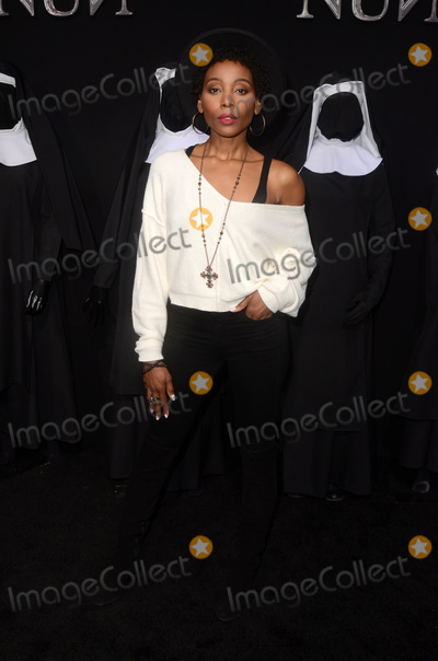 Photo - LOS ANGELES - SEP 4  Erica Ash at the The Nun World Premiere at the TCL Chinese Theater IMAX on September 4 2018 in Los Angeles CA