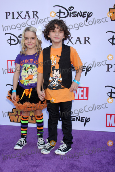 August Maturo Photo - LOS ANGELES - OCT 1  McKenna Grace August Maturo at the VIP Disney Halloween Event at Disney Consumer Product Pop Up Store on October 1 2014 in Glendale CA