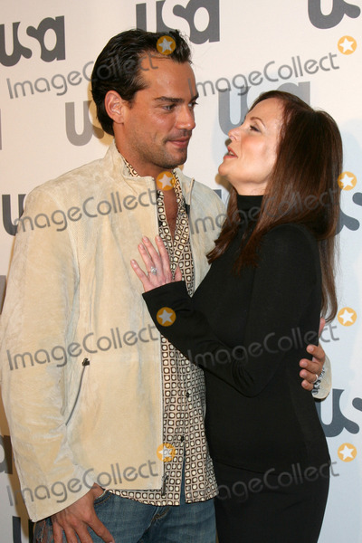 Cristian De La Fuente,Lesley Ann Warren Photo - USA Network 2008 LA Upfront