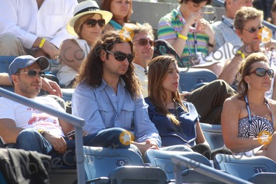 ANGEL REED Photo - New York NY Constantine Maroulis and new wife Angel Reedon Day 8 of US Open TennisPhoto By Maggie Wilson-PHOTOlinknet