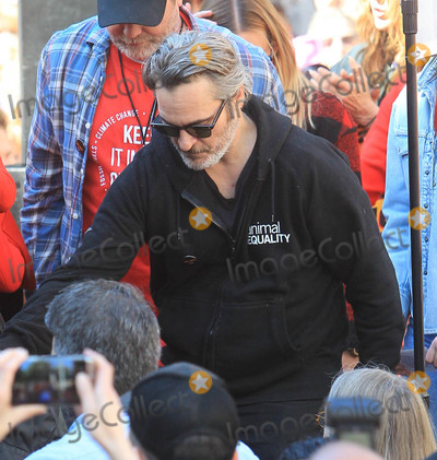 Photo - Jane Fonda and Joaquin Phoenix at Fire Drill Fridays
