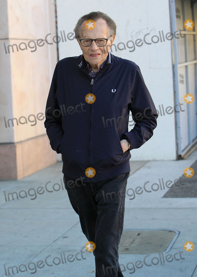Photos From Larry King sighting in Los Angeles, CA