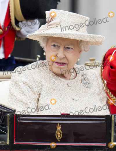Photo - Photo by KGC-178starmaxinccomSTAR MAXCopyright 2015ALL RIGHTS RESERVEDTelephoneFax (212) 995-119661315Her Majesty Queen Elizabeth II at the Trooping The Colour ceremony in honor of The Queens official birthday(London England UK)