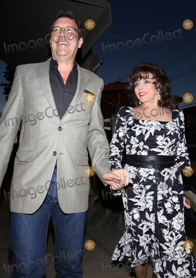 Photos From Percy Gibson and Joan Collins outside Craig's Restauarant