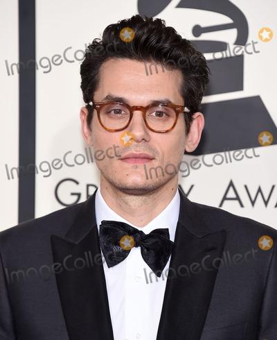 John Mayer,Grammy Awards Photos - Photo by KGC-11starmaxinccomSTAR MAX2015ALL RIGHTS RESERVEDTelephoneFax (212) 995-11962815John Mayer at the 57th Grammy Awards(Los Angeles CA)