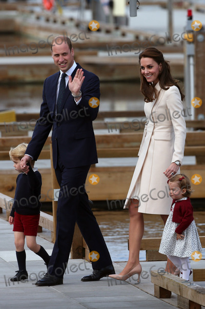 Photos From Royal Family Departs Victoria, British Columbia, Canada