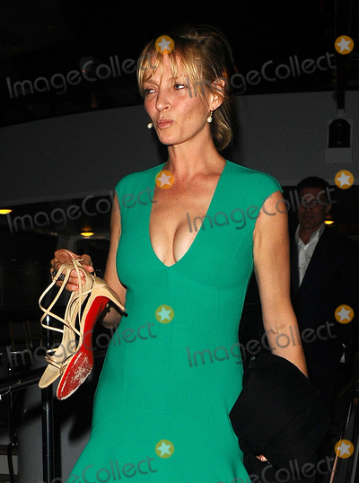 Andr Balazs Photo - Photo by KGC-102starmaxinccomSTAR MAX2015ALL RIGHTS RESERVEDTelephoneFax (212) 995-119651715Uma Thurman and Andre Balazs are seen leaving a yacht party at the port during the 68th Annual Cannes Film Festival(Cannes France)