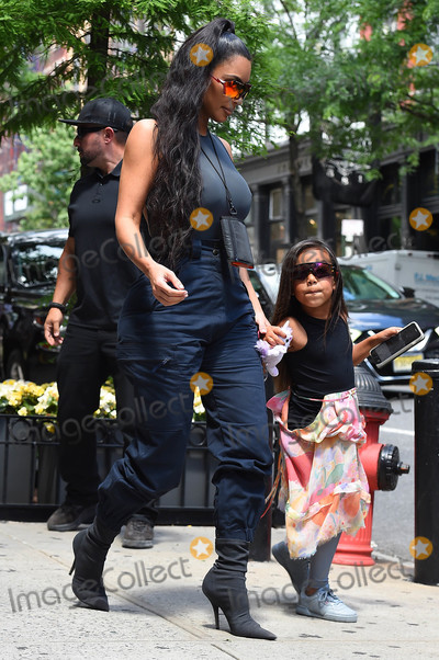 Photo - Photo by TKstarmaxinccomSTAR MAX2018ALL RIGHTS RESERVEDTelephoneFax (212) 995-119661918Kim Kardashian and North West are seen in New York City