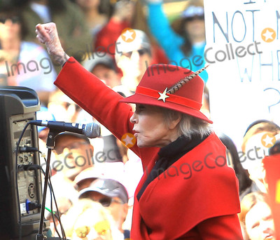 Photos From Jane Fonda and Joaquin Phoenix at 'Fire Drill Fridays'