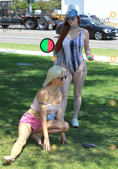 Angelique Morgan Photo - Photo by SMXRFstarmaxinccomSTAR MAX2018ALL RIGHTS RESERVEDTelephoneFax (212) 995-119653118Angelique Morgan and Phoebe Price are seen in Los Angeles CA