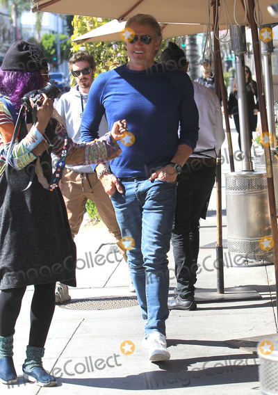 Photos From Dolph Lundgren is seen in Beverly Hills, CA