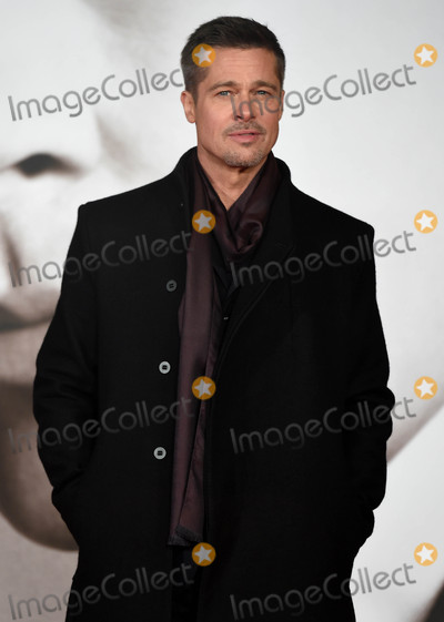 Photo - Photo by KGC-03starmaxinccomSTAR MAX2016ALL RIGHTS RESERVEDTelephoneFax (212) 995-1196112116Brad Pitt at the premiere of Allied(London England UK)