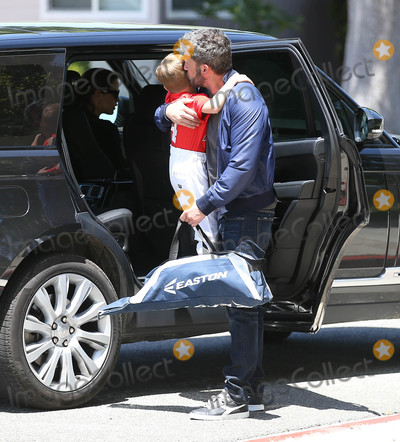 Photos From Ben Affleck and family are seen in Los Angeles