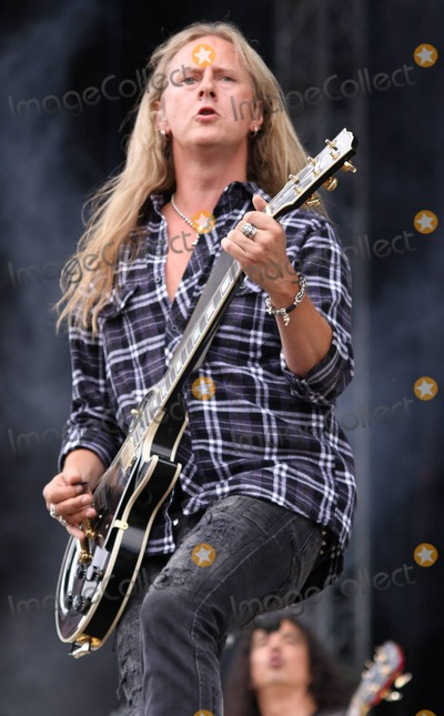 Alice in Chains Photo - Guitarist Jerry Cantrell of Alice in Chains performs live at the Sonisphere Festival a rock metal electro and punk traveling music event held at Knebworth House and Park Knebworth UK 080110