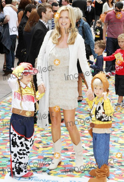 Alistair Stewart Photo - Former model Penny Lancaster third wife of musician Rod Stewart and son Alistair Stewart walk the multicolor carpet at Empire Leicester Square for the UK premiere of Disney and Pixars Toy Story 3  The third installment in the Toy Story series has so far received positive reviews since its June release in North America and has proved popular in the toy and video game world with Mattel Wii Xbox 360 and PS3 all creating products based on the lovable film characters London UK 071810