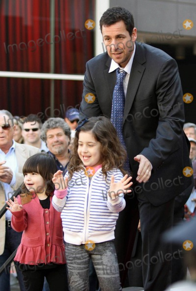 Photos and Pictures - Joined by his wife Jackie, daughters