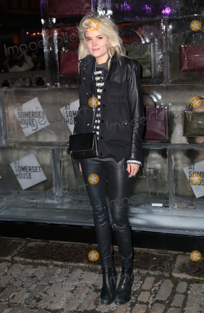 Alison Mosshart Photo - Nov 13 2013 - London England UK - Skate at Somerset House VIP Launch presented by Coach Pictured Alison Mosshart