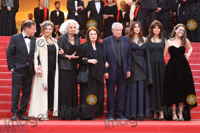 Claude Lelouch Photo - CANNES FRANCE - MAY 18 Antoine Sire guest Anouk Aimee Claude Lelouch Monica Bellucci Marianne Denicourt and Tess Lauvergne attend the screening of Les Plus Belles Annees DUne Vie during the 72nd annual Cannes Film Festival on May 18 2019 in Cannes France (Photo by Laurent KoffelImageCollectcom)