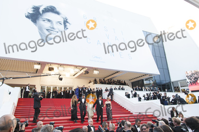 Nanni Moretti Photo - CANNES 16 MAY Actress Beatrice Mancini Actor John Turturro Actress Giulia Lazzarini Director Nanni Moretti and Actress Margherita Buy attend the Premiere of Mia Madre (My Mother) during the 68th annual Cannes Film Festival on May 16 2015 in Cannes France(Photo by Laurent KoffelImageCollectcom)