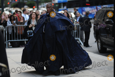 Leon Talley Photo - May 2 2014 New York CityAndr Leon Talley attending a memorial service for L Wren Scott at St Bartholomews Church in New York City on May 2 2014