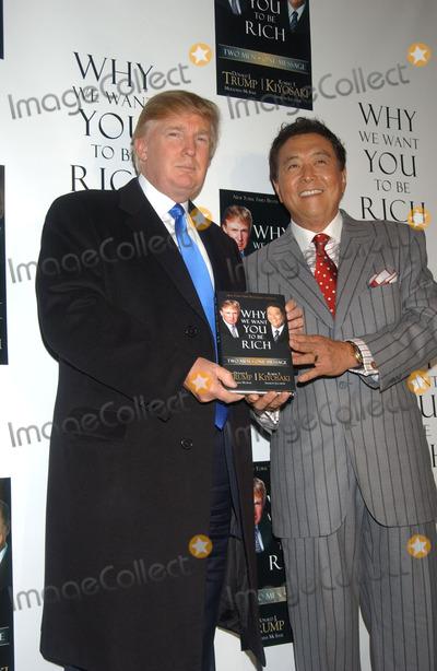 Photos And Pictures Donald Trump And Robert Kiyosaki Held A Press