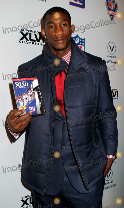 Antrel Rolle Photo - Antrel Rolle of the New York Giants at the Super Bowl XLVI Champions New York Giants Blue Carpet VIP premiere at the Regal E-Walk Stadium 13 on March 5 2012 in New York City