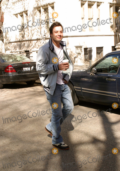 Photos From JIMMY FALLON WALKS WEST VILLAGE WITH COFFEE
