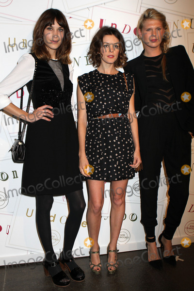 Alexandra Rich Photo - April 5 2012 New York CityAlexa Chung Nora Zehetner and Alexandra Rich at the Kim Crawford Wines and Miles Aldridge Photography Art Event at Cedar Lake Studios on April 5 2012 in New York City