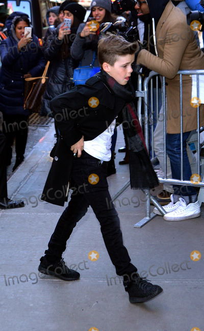 Romeo Beckham Photo - February 14 2016 New York CityRomeo Beckham arriving at Balthazar for lunch on February 14 2016 in New York CityBy Line Curtis MeansACE PicturesACE Pictures Inctel 646 769 0430