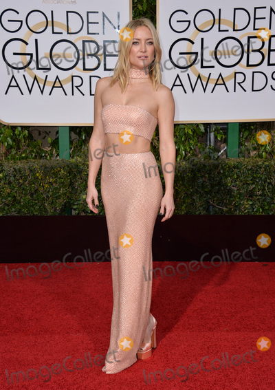 Photo - Kate Hudson at the 73rd Annual Golden Globe Awards at the Beverly Hilton HotelJanuary 10 2016  Beverly Hills CAPicture Paul Smith  Featureflash