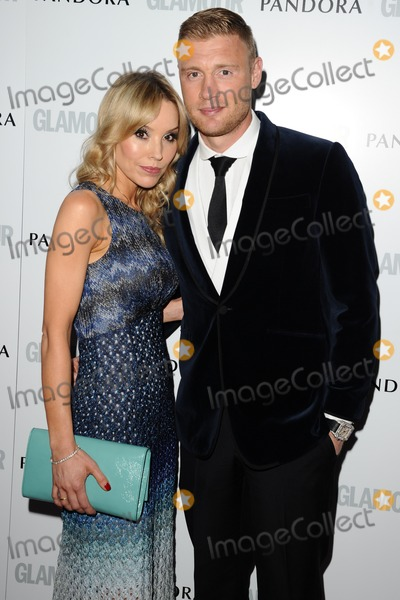 Andrew Flintoff Photo - Rachel and Andrew Flintoff arriving for the 013 Glamour Women of The Year Awards Berkeley Square London 04062013 Picture by Steve Vas  Featureflash