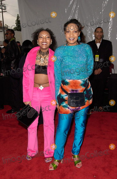 Abbey Lincoln Photo - 04MAR2000 French RB duo LES NUBIANS - Helene  Celia Faussart - at the 14th Annual Soul Train Music Awards in Los Angeles Paul Smith  FeatureflashAddl infoAn unconventional female duo that came out of Bordeaux France in the 1990s Les Nubians offered a jazzy sophisticated style of RB that combined French lyrics with the influence of Sade Soul II Soul hip hop and African pop The duo consists of sisters Helene and Celia Faussart who were born in France to a French father and a Cameroonian mother After living in France as children the siblings moved with their parents to the African country of Chad in 1985 when Helene (b 1975) was ten and Celia (b 1979) was six The sisters lived in Chad for seven years before returning to France as teenagers Helene and Celia had been singing most of their lives and when they first formed Les Nubians they were an a cappella group that specialized in covers of RB reggae and African songs Eventually they started working with bands and performing original material Helene and Celia absorbed a variety of music along the way and they have expressed admiration for artists ranging from Ella Fitzgerald and Abbey Lincoln to the Fugees and African icons Miriam Makeba and Fela Kuti Their promising debut album Princesses Nubiennes was released by Virgin worldwide in France Switzerland and Belgium in June 1998 before coming out on OmtownHigher Octave in the US in September of that year