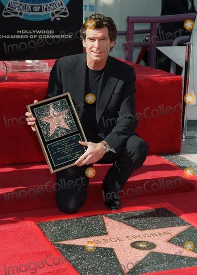 Photo - Pierce Brosnan star ceremony