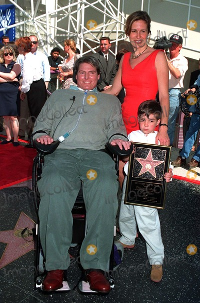 Photo - Christopher Reeve star ceremony