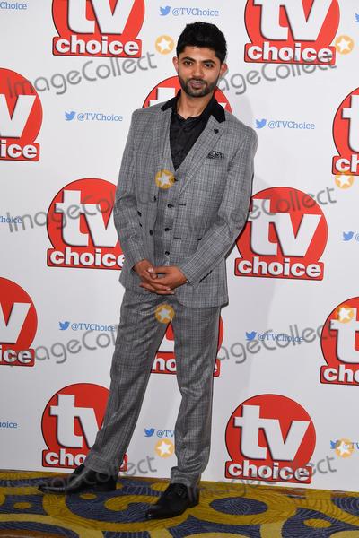 Qasim Akhtar Photo - Qasim Akhtar at the TV Choice Awards 2015 at the Hilton Hotel Park Lane LondonSeptember 7 2015  London UKPicture Steve Vas  Featureflash