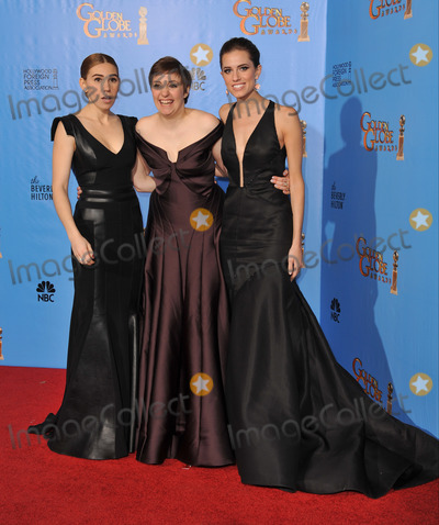 Alison Williams Photo - Girls stars Zosia Mamet (left) Lena Dunham  Alison Williams at the 70th Golden Globe Awards at the Beverly Hilton HotelJanuary 13 2013  Beverly Hills CAPicture Paul Smith  Featureflash