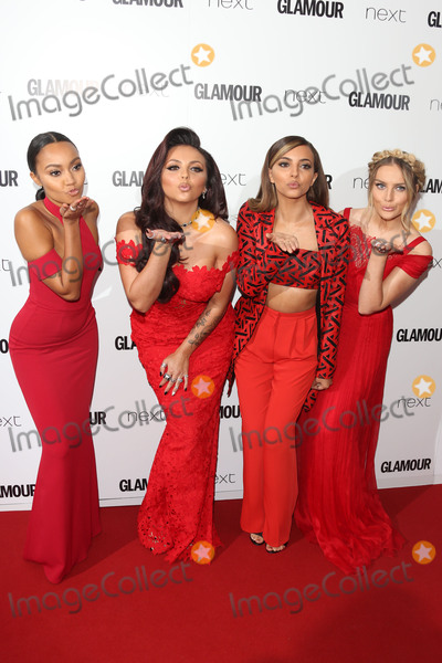 Photo - Leigh-Anne Pinnock Jesy Nelson Jade Thirlwall Perrie Edwards - Little Mix - at the Glamour Women of the Year Awards 2015 at Berkeley Square GardensJune 2 2015  London UKPicture James Smith  Featureflash