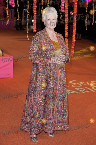 Judi Dench Photo - Dame Judi Dench arriving for the The Second Best Exotic Marigold Hotel Uk Premiere at the Odeon Leicester Square London