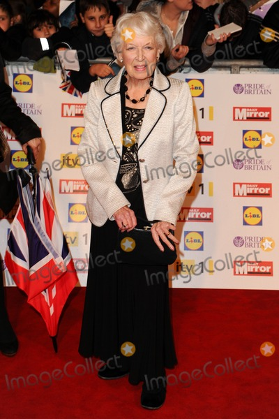 June Whitfield Photo - June Whitfield arriving for the 2012 Pride of Britain Awards at the Grosvenor House Hotel London 29102012 Picture by Steve Vas  Featureflash
