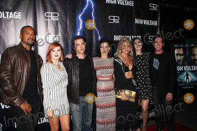 Allie Gonino Photo - Jim Tivs Grace Bannon Ryan Donowho  Perrey Reeves Allie Gonino Atherine Kim Guest 10162018 The Los Angeles premiere of High Voltage held at TCL Chinese Theatre in Hollywood CA Photo by Hiro Katoh  HollywoodNewsWireco