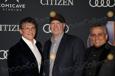 Anthony Russo Photo - Anthony Russo Kevin Feige Joe Russo 04222019 The world premiere of Marvel StudiosAvengers Endgame held at The Los Angeles Convention Center in Los Angeles CA Photo by Izumi Hasegawa  HollywoodNewsWireco