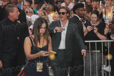 Photo - Brad Pitt 07222019 The Los Angeles Premiere of Once Upon A Time In Hollywood held at the TCL Chinese Theatre in Los Angeles CA Photo by Izumi Hasegawa  HollywoodNewsWireco
