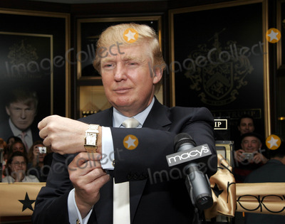Photos From Donald Trump Launches His New Signature Watch Collection
