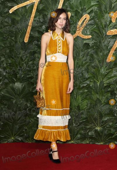 Photo - London UK Alexa Chung at the The Fashion Awards 2018 at the Royal Albert Hall Kensington London on December 10th 2018Ref LMK73-J4027-111218Keith MayhewLandmark Media WWWLMKMEDIACOM