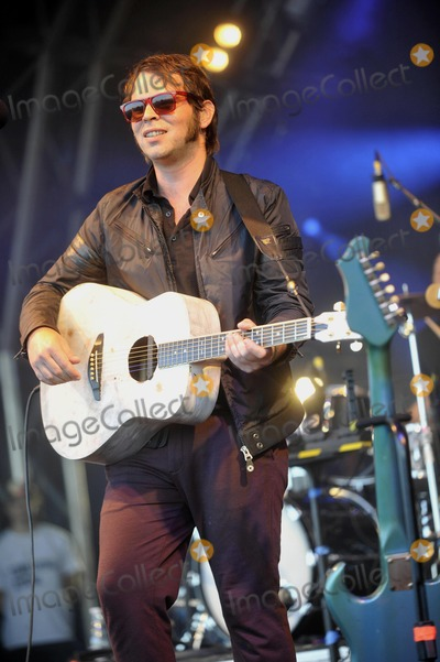 Gaz Coombes Photo - Oxfordshire UK Gaz Coombes at The Big Feastival held at Alex James Farm in Kingham 1st September 2012Keith MayhewLandmark Media