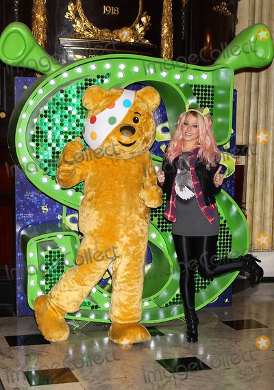 Photo - Amelia Lily joins Pudsey Bear