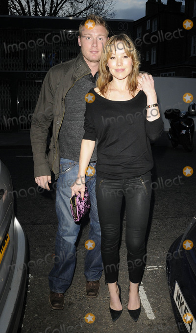 Andrew Freddie Flintoff Photo - LondonUK  Former England cricket team Andrew Freddy Flintoff   and wife Rachel at Kelly Hoppens book launch of Kelly Hoppens Ideas  Beach Blanket Babylon 4th April 2011 Can NguyenLandmark Media