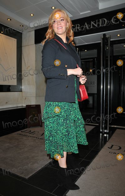 Photo - London UK Sarah-Jane Mee at the Ultimate News Quiz 2019 annual charity quiz in aid of Action for Children and Student Partnerships Worldwide Grand Connaught Rooms Great Queen Street London England UK on Wednesday 20th March 2019Ref LMK315-J4554-210319CAN NGUYENLandmark MediaWWWLMKMEDIACOM