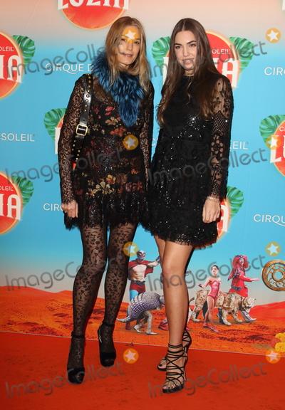 Amber Le Bon Photo - London UK Yasmin Le Bon and Amber Le Bon  at Cirque du Soleil Luzia Press Night at the Royal Albert Hall Kensington London on January 15th 2020Ref LMK73-J6034-160120Keith Mayhew Landmark MediaWWWLMKMEDIACOM